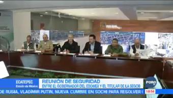 Gobernador Del Mazo Reúne Osorio Chong Estado De México Alfredo