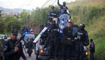 Policías levantan huelga medio crisis poselectoral Honduras