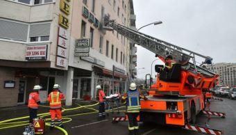 Incendio en edificio de viviendas en Alemania deja 4 muertos y 23 heridos