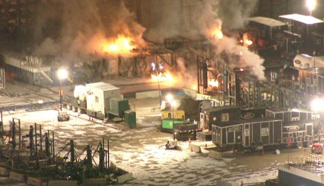 incendio en refineria de colorado, eu, deja un lesionado