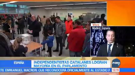 Independentistas Catalanes Logran Mayoría Parlamento