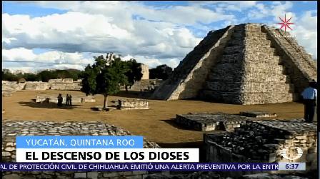 Inicia El Invierno Dioses Mayas Descienden Pirámides Yucatán