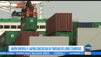 Japón Unión Europea Concluyen Acuerdo Comercial