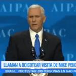 Llaman Boicotear Visita Mike Pence Jerusalén Fatah Estados Unidos