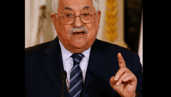 Presidente palestino rechaza cualquier plan de paz de EU