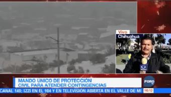Mando Único Protección Civil Toma Control Chihuahua