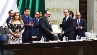 diputados otorgan medalla eduardo neri rosario green