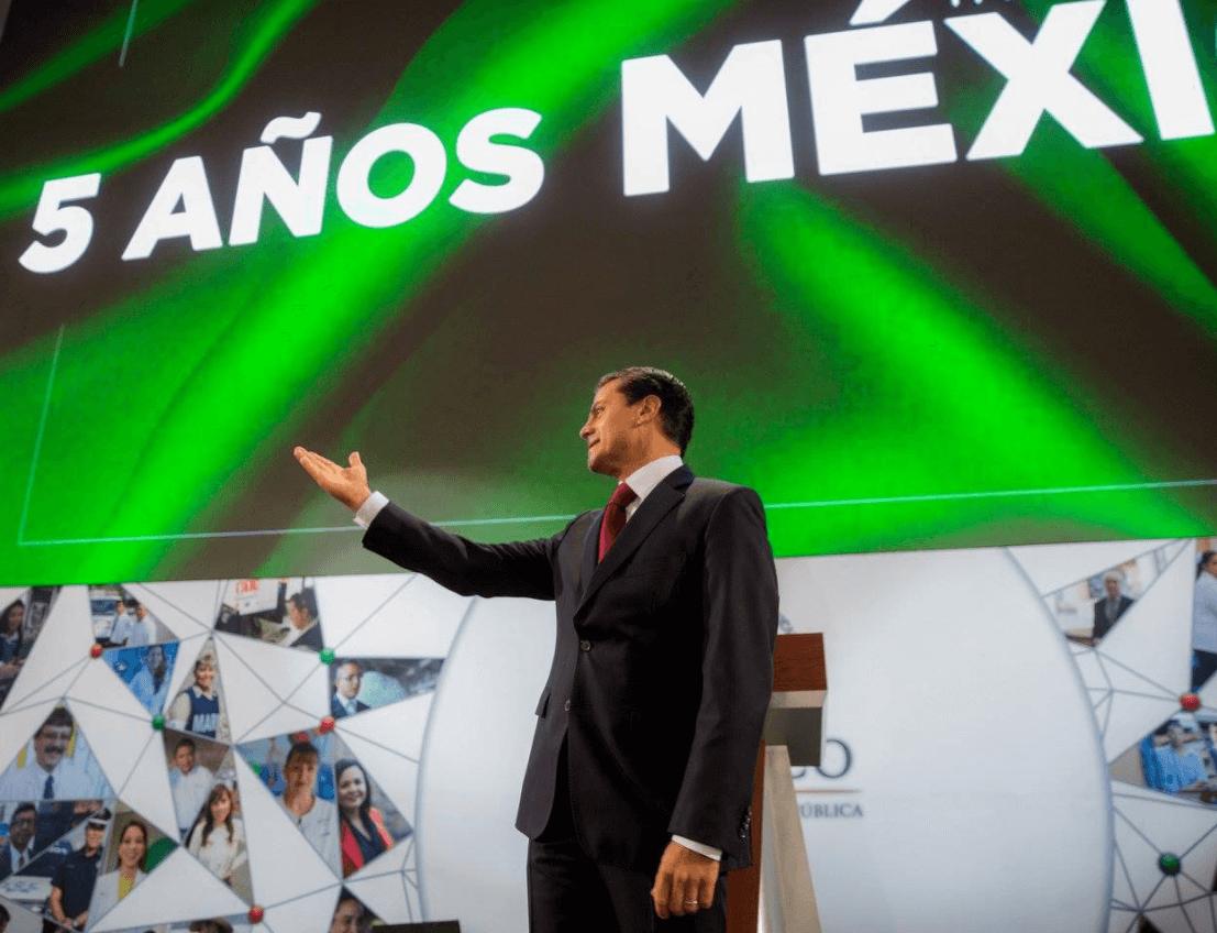 Peña Nieto llama a respetar la ley en 2018