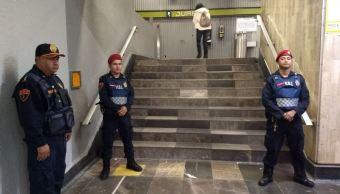 Detienen a policía auxiliar acusado de abuso sexual en el Metro