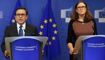 México y la Unión Europea continuarán modernización del TLC