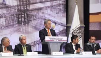 Mancera presentan actualización de normas para construcción en la CDMX