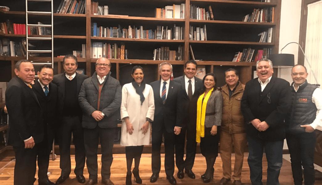 Mancera apoyo gobernadores corrientes internas PRD
