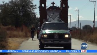 Miles de peregrinos celebran a la virgen de Juquila en Oaxaca