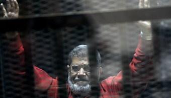 Dictan nueva sentencia al expresidente egipcio Morsi