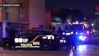 Mueren tres hombres por disparos de fuego en la CDMX