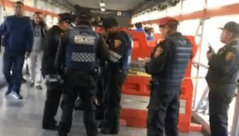 Dos hombres mueren en estaciones de la Línea 2 del Metro