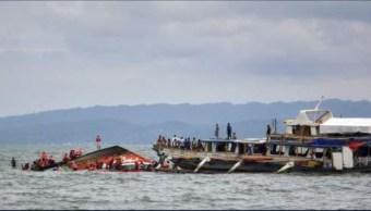 al menos cuatro personas mueren en naufragio en costa oriental de filipinas