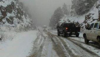 Tercera tormenta invernal mantiene potencial de nevadas en México