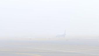 Banco de niebla afecta vuelos en Aeropuerto de la Ciudad de México