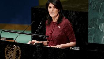 Estados Unidos reitera amenazas a quien vote en su contra sobre Jerusalén
