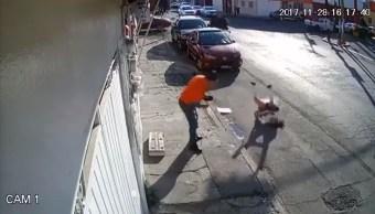 niña se golpea en la cabeza por cable en puebla