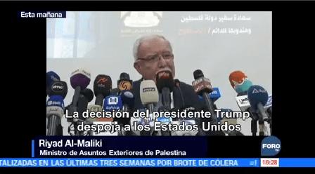 Palestina Congela Relaciones Eu Egipto Ministro Exteriores Palestina