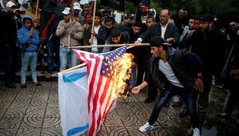 tres dias ira palestinos reciben declaratoria trump jerusalen