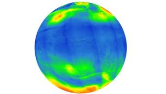 Imágenes de la contaminación en la Tierra. (@esa)