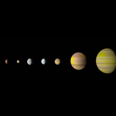La NASA descubre el Kepler-90, un sistema solar parecido al de la Tierra