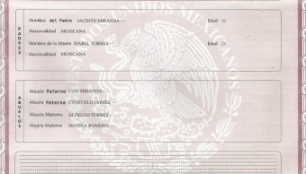 Mexicanos ya pueden tramitar acta de nacimiento en internet