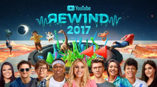 YouTube Rewind enlista lo mejor en música, memes y personalidades del 2017