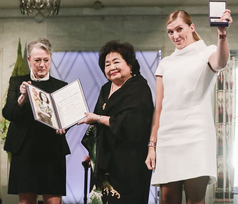 Alertan sobre apocalipsis nuclear en entrega del Nobel de la Paz