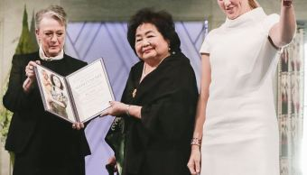 ICAN urge potencias a prohibir armas nucleares al recibir Nobel de Paz