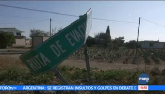 Presentan Fallas Rutas Evacuación Popocatépetl