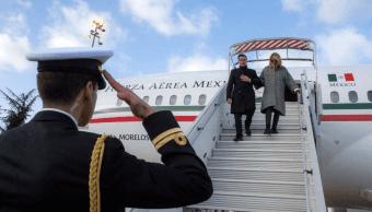 Peña Nieto llega a París para participar en Cumbre 'One Planet'