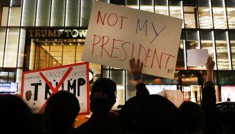 Activistas convocan protestas año Trump Casa Blanca