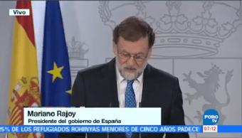 Rajoy Reafirma Legalidad Elecciones Cataluña Mariano