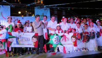 Campeche realiza concurso de ramas previo a Navidad