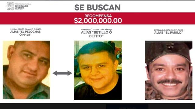 ofrecen tamaulipas recompensa 2 mdp capturar tres delincuentes