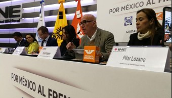 PAN PRD MC registran INE coalición México al Frente