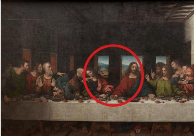 Descubren Que Leonardo Da Vinci Pinto Parte De Un Cuadro En Abadia Belga