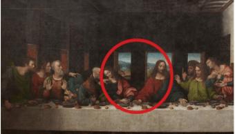 Réplica de 'La última cena' en la abadía de Tongerlo