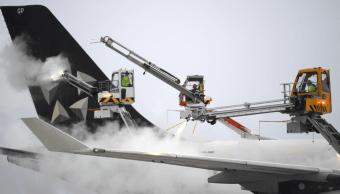 Aeropuerto de Fráncfort, Alemania, cancela 170 vuelos por nevada