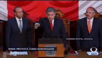 Rinde Protesta Gobernador Coahuila Priista Miguel Ángel Riquelme