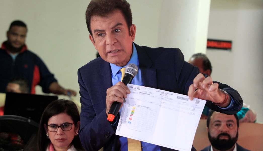 Nasralla califica fraude monumental elección presidencial Honduras
