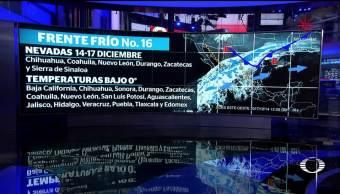Se esperan tres días de frío intenso en México