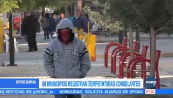 Mantienen Temperaturas Bajo Cero Chihuahua Bajas