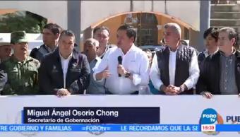 Simulacro Evacuación Actividad Popocatépetl Miguel Ángel Osorio Chong