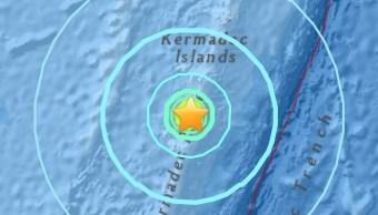 Sismo magnitud 6 2 sacude islas Kermadec Nueva Zelanda