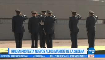 Toman Posesión Nuevos Altos Mandos Militares Defensa Nacional Salvador Cienfuegos
